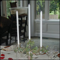 Dripless Taper Candle Rental